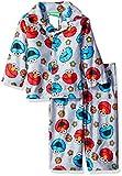 Sesame Street Baby Boys' 2-Piece Pajama Coat Set with Elmo
