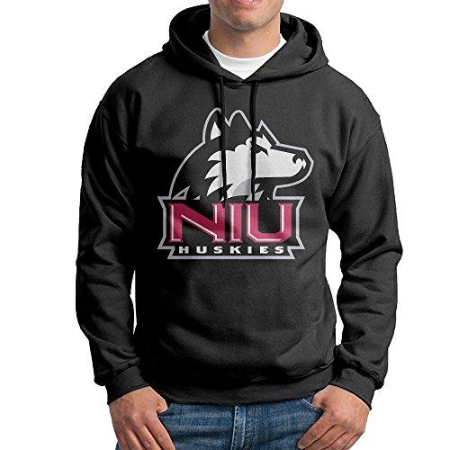 JJVAT Men's Hoodies Northern Illinois University Size L Black