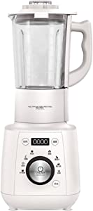 Rxrenxia Professional Blender, Countertop Blender with 800-Watt Base and Total Crushing Technology for Smoothies, Ice and Frozen Fruit,White