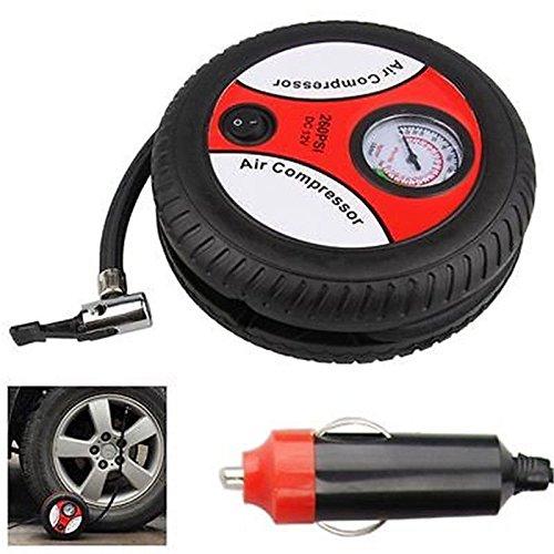 FidgetFidget Air Car Compressor Pump 12V Portable Mini Car T