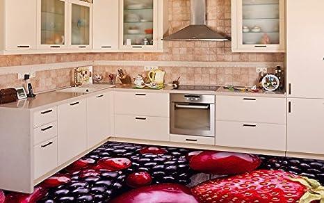 Ruvitex 3d decor pavimento piastrelle per pavimento in pvc adesivo