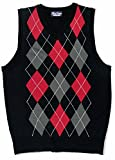 Blue Ocean Kids Argyle Sweater Vest-12/14