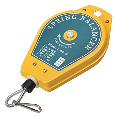 iiMash Retractable Spring Balancer Tool Holder Hanging 0.6-2kg Assembly-line Fixtures ()