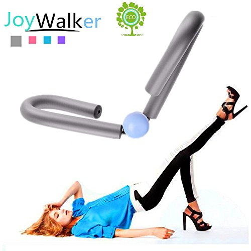 Joy Walker Thigh Master Toner (Anti-Slip) Cushioned Foam- Arm, Leg, Butt Thigh Trimmer Exerciser Home Fitness Sport Gym Equipment(Gray) (Best Gym Equipment For Thighs)