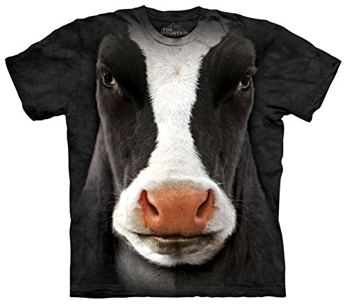 Cow Face (Cow Face T-Shirt Size L)