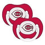 Baby Fanatic Pacifier (2 Pack) - Cincinnati Reds Team Colors