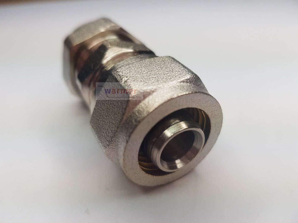 15/mm Compression en cuivre Plastique Adaptateur R/éducteur 16/mm Barrier Pipe