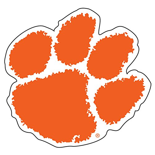 Clemson Tigers Magnet ORG PAW MAGNET 18