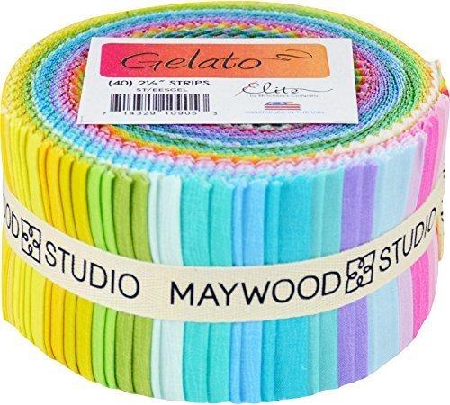 Gelato Strips 40 2.5-inch Strips Jelly Roll Elite by Elite