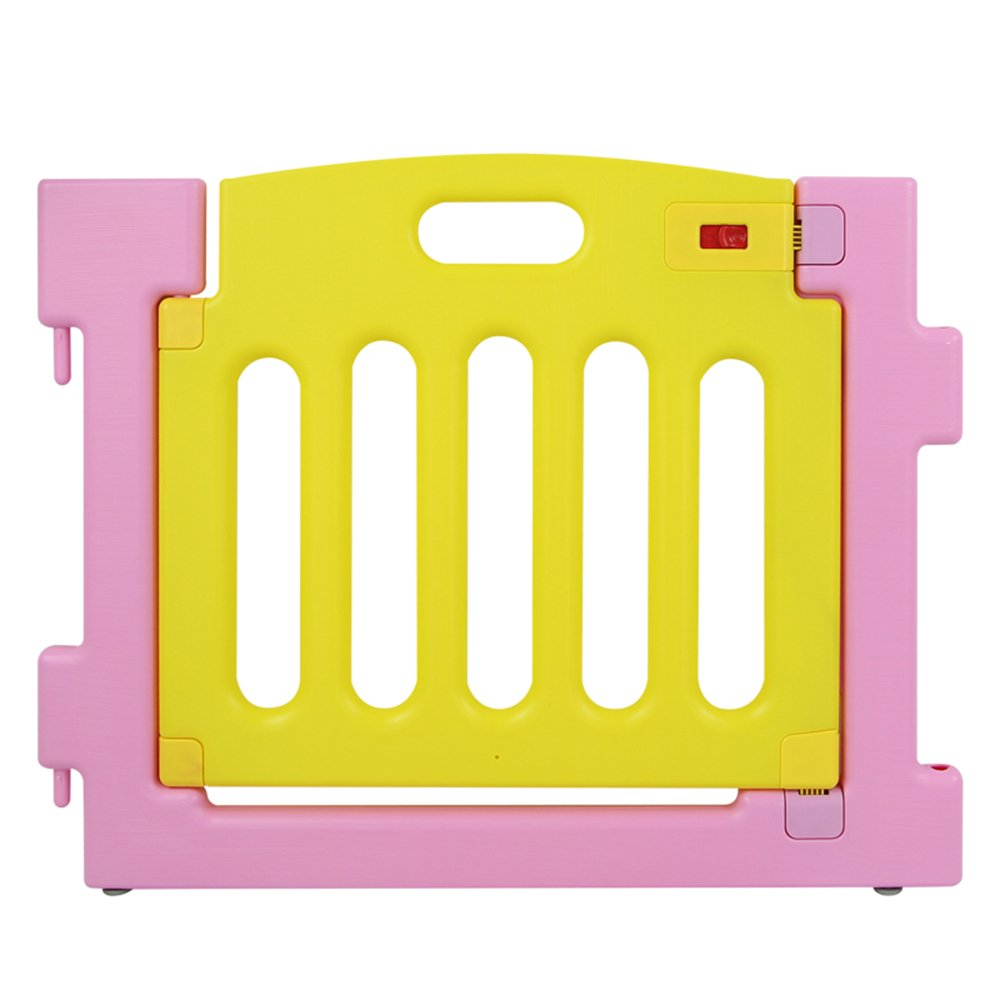 amarillo BEBEHUT/® Reja de seguridad Barreras protectoras de pl/ástico para beb/és Baby Vivo Parque Infantil 3601-D02 JBW06 rosa p/úrpura