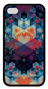 iphone 4S brand new case patterns abstract 88 TPU Black for Apple iPhone 4/4S by icecream design