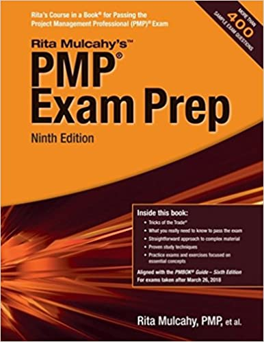 Pmp exam prep accelerated learning to pass the project management pmp exam prep accelerated learning to pass the project management professional pmp exam rita mulcahy 9781943704040 amazon books fandeluxe Image collections