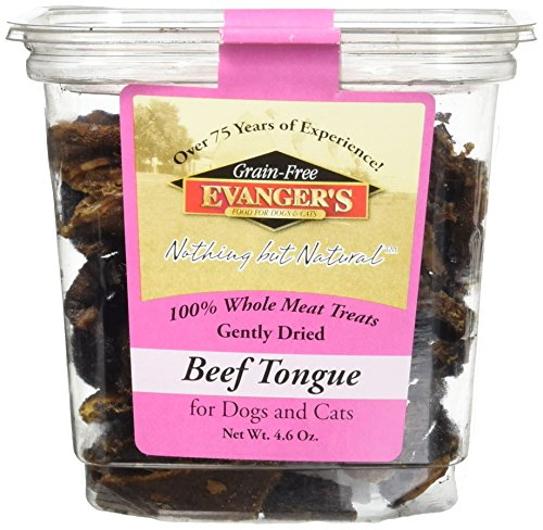 - Evanger'S 100% Beef Tongue Dog & Cat Treats