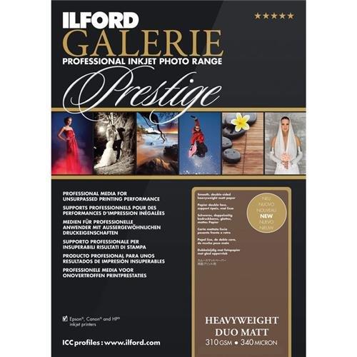ILFORD 2003179 GALERIE Prestige Heavyweight Matt Duo - 13 x 19 Inches, 50 Sheets by Ilford