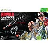 Rapala Pro Bass Fishing with Rod Peripheral -Xbox 360