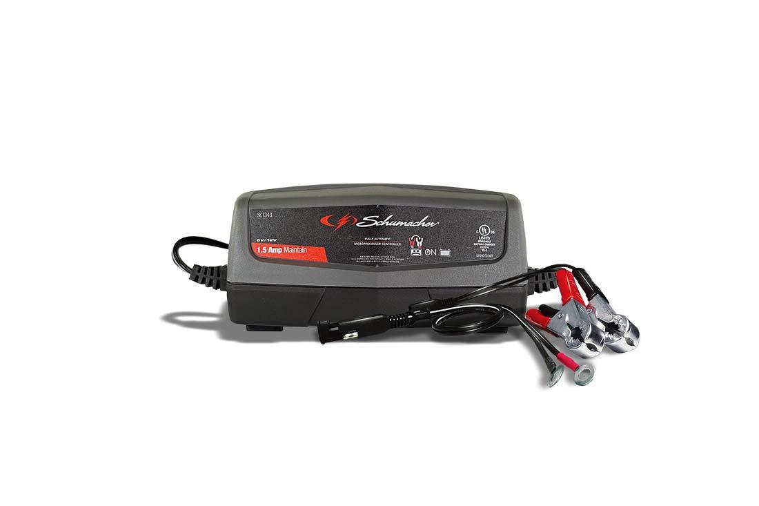Schumacher SC1343 1.5A 6//12V Battery Maintainer