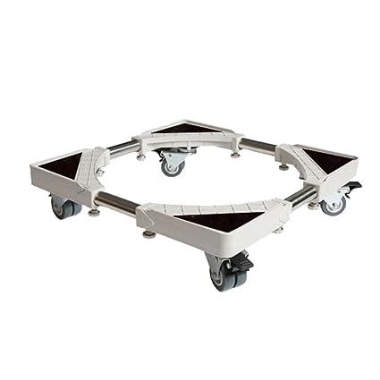 La Carretilla Ajustable Móvil Multifuncional 360 ° Gira con Las Ruedas del Eslabón Giratorio 4 ×