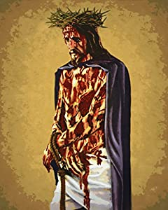 Amazon.com: Jesus Scourge Crucifix 16x20 Catholic Poster