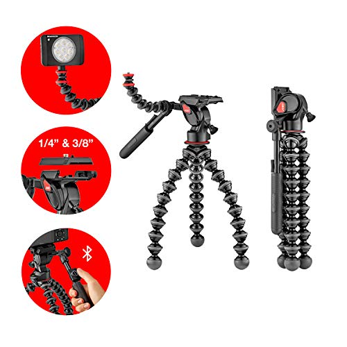 Joby JB01561-BWW Gorillapod 5K Video Pro, Black