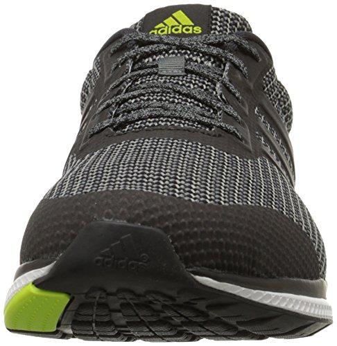 Adidas Performance Mens Mana Rimbalzo Scarpa Da Running Vista Grigio / Nero / Semi Melma Solare