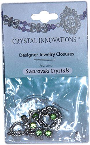 - Swarovski Crystal Innovations 7 Stone Peridot Green Bracelet Kit (2)