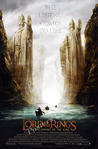 - Posters USA - The Lord of the Rings The Fellowship of the Ring Movie Poster GLOSSY FINISH - MOV156 (16