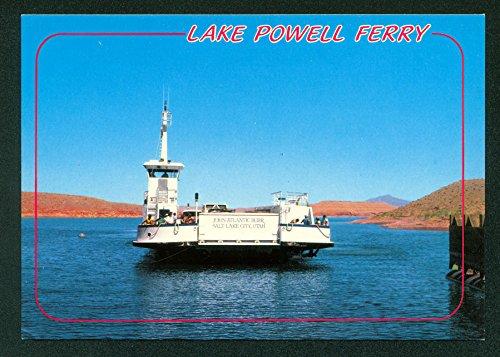 Lake Powell Ferry John Atlantic Burr Utah Continental Postcard