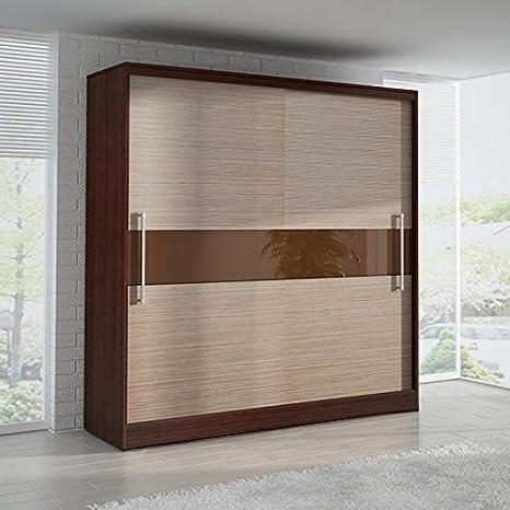 Armario de puertas correderas 6 ft 8 Inch (204 cm) cubano: Amazon.es: Hogar