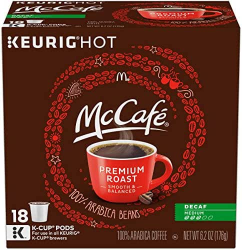 Coffee Pods: McCafé K-Cup Pods