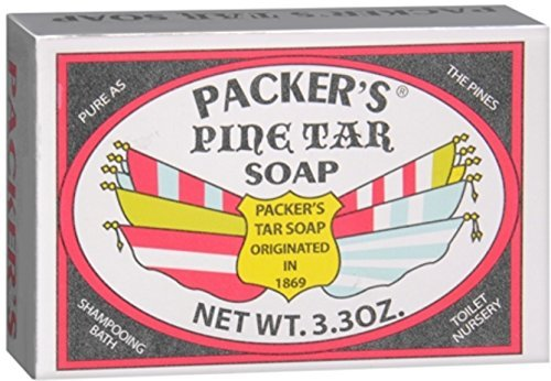 PACKER'S Pine Tar Soap 3.30 oz by Packers