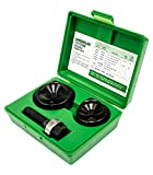 Greenlee 737BB Knockout Punch Kit, 1-1/2-Inch and 2-Inch Conduit Size