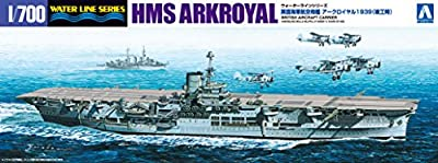 1/700 Water Line Series Royal Navy aircraft carrier Ark Royal completion during 1939