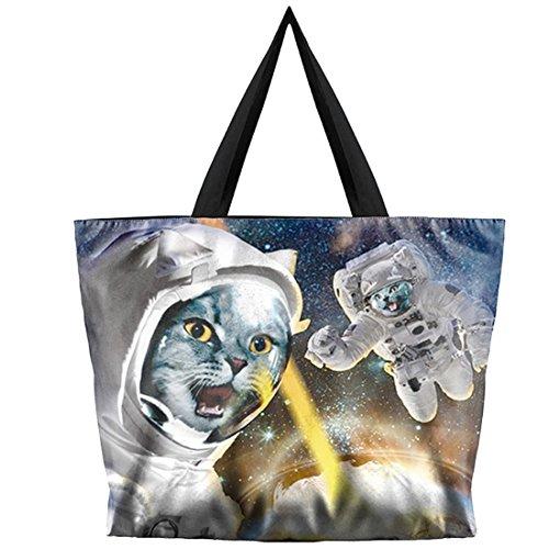 Cat taille Sac devil à astronaut l'épaule unique pour Belsen femme porter à multicolore g7FqFfw