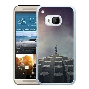 Custom Design Imagine Dragons Night Visions White Case For HTC ONE M9 Phone Case Cool Design