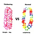 4pcs-Hawaiian-Leis-Hula-Dance-Garland-Artificial-Flowers-Neck-Loop4-ColorsThickened