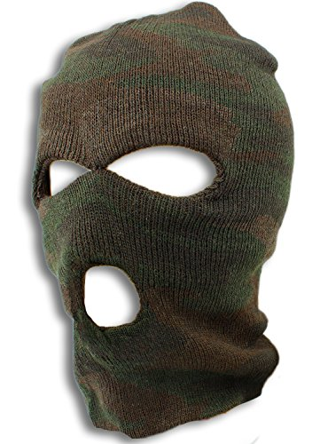 Brown Camo Ski Mask - Camouflage Gear by bogo - Ski Brand