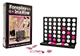 Foreplay in a Row - Adult Board Game For Couples - Bundle - 2 Items by MFKS Games