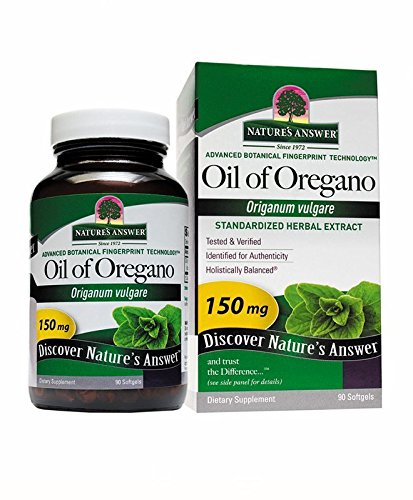Cheap Nature's Answer Oil of Oregano Softgels, 90-Count