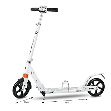 maistore 2 ruedas patinete adulto plegable Scooter Shock ...