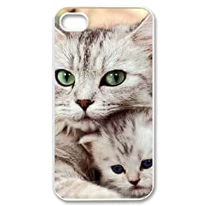 ANCASE Customized Print Lovely Cat Pattern Back Case for iPhone 4/4S