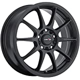 Vision Venom 16 Black Wheel / Rim 5x112 & 5x4.5 with a 38mm Offset and a 73.1 Hub Bore. Partnumber 425-6720MB38