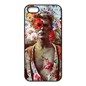 David Bowie iPhone5s Cell Phone Case Black yyfabc-398446