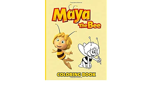 - Amazon.com: Maya The Bee Coloring Book: Cute Bee Characters Stress Relief Coloring  Book With 50+ Coloring Pages Maya The Bee High-Quality Designs  (9798679799318): Meoktu, Dsirai: Books