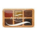 ArtGraf Water Soluble Earthtone 6-Color Set