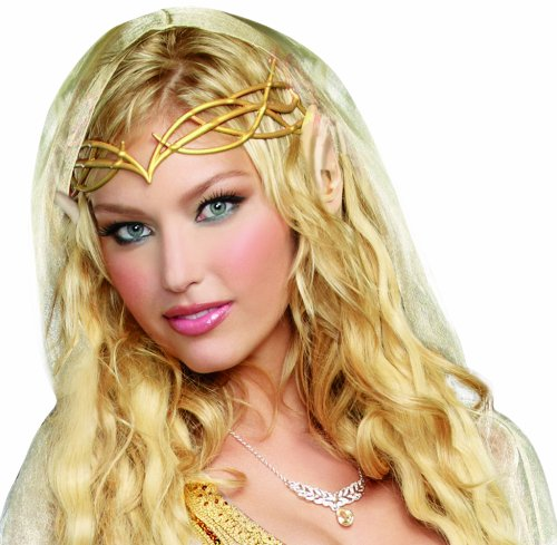 UPC 888368011049, Dreamgirl Women's Elf Princess Kit, Gold, One Size