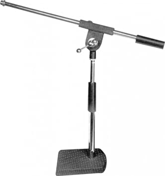 Desk Microphone Stand With Boom Arm Amazoncouk Musical Instruments - Desk boom mic stand