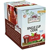 Grove Square Cider Cups, Spiced Apple, Single Serve Cup for Keurig K-Cup Brewers, 24-Count (Pack of 2)