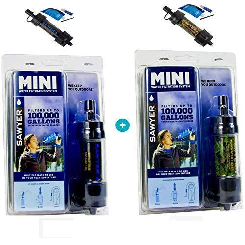 SAWYER PRODUCTS Sawyer Mini PointONE Wasserfilter für Outdoor Camping Wasseraufbereitung B07JH8WKJW    | Luxus