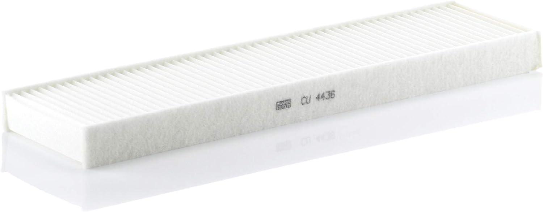 MANN-FILTER Original Filtro de Habit/áculo CUK 4436 Para autom/óviles Filtro antipolen con carb/ón activo