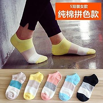 zhfc de calcetines calcetines calcetines Corto Primavera y Verano femenina Japonesas bajo planas calcetines dulce Calcetines
